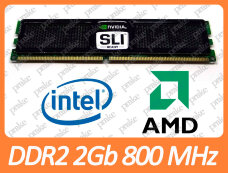 Б/У DDR2 2GB 800 MHz (PC2-6400) CL5 OCZ OCZ2N800SR4GK