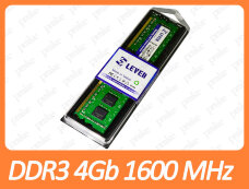 DDR3 4GB 1600 MHz (PC3-12800) Leven
