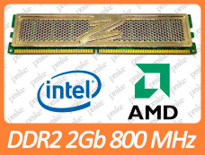 Б/У DDR2 2GB 800 MHz (PC2-6400) CL5 OCZ Gold Series OCZ2G8004GK