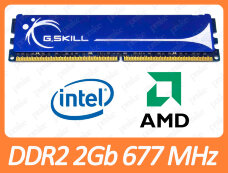 Б/У DDR2 2GB 667 MHz (PC2-5300) CL4 G.Skill F2-5300CL4D-4GBPQ