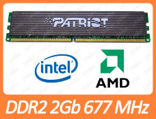 Б/У DDR2 2GB 667 MHz (PC2-5300) CL4 Patriot PEP22G5300LL